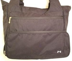 Under Armour Bags   Under Armor Laptopmessenger Bag Black Nylon ... 90cac18a3d